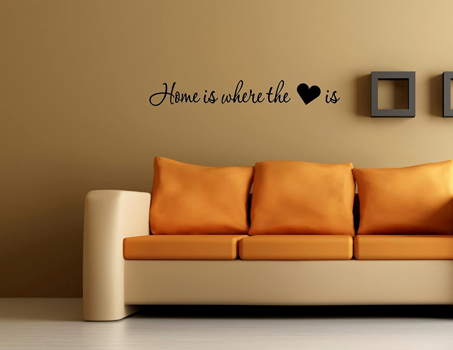 Amazon Home Is Where The Heart Is 0379 Vinyl Wall Decals