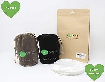 Eco Bravo - Almohadillas reutilizables para eliminar ...