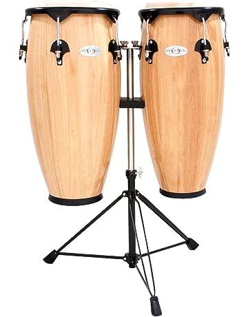 Meinl Percussion HC555WRB Lot de 2 congas Headliner Bordeaux 25,4 et 27,94 cm