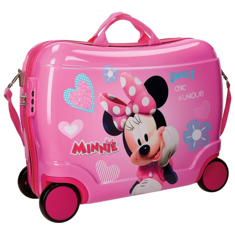 Kinderkoffer zum Sitzen - Disney Minnie Sitzkoffer