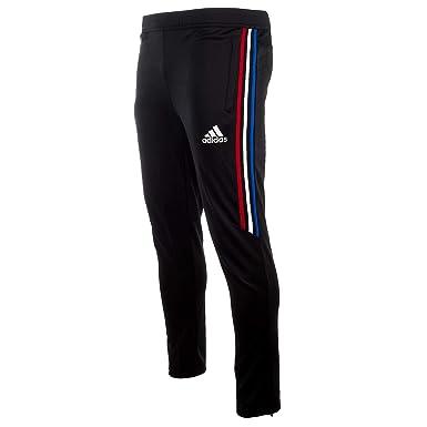 63104cb526d Amazon.com  adidas TIRO 17 Training Pants - Black Power Red White ...