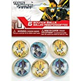Transformers Bouncy Ball Party Favors, 6ct
