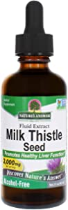 Nature's Answer Milk Thistle Extract | Promotes Healthy Liver Function | Cleanse and Detox Supplement | Non-GMO, Kosher Certified, Alcohol-Free & Gluten-Free 2oz