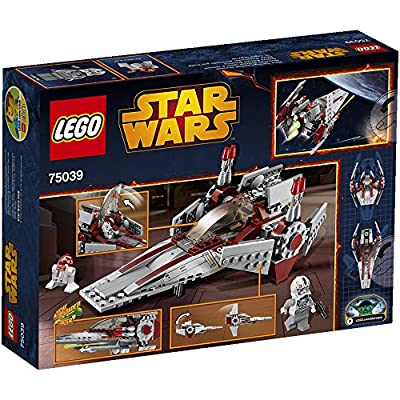 LEGO Star Wars Revenge of the Sith V-Wing Starfighter w/ 2 Minifigures | 75039: Toys & Games