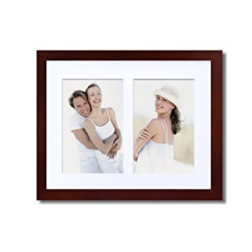 Wall Hanging Photo Frames Designs 20 unexpected ways to hang pictures on your wall Adeco Pf0282 Decorative Walnut Color Wood Wall Hanging Picture Photo Frame With Mat