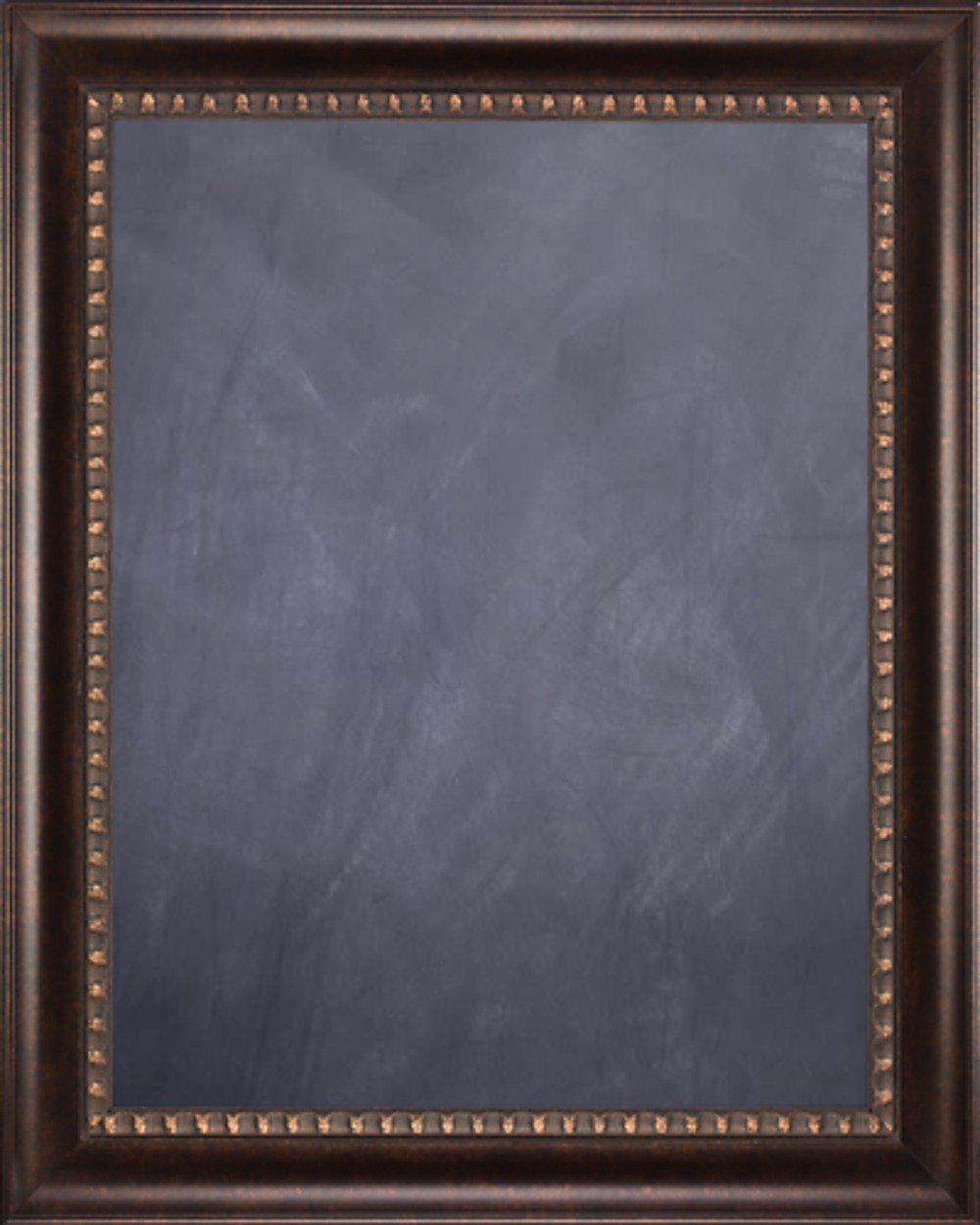 Framed Chalkboard 24'' x 36'' - with Dark Bronze Finish Scoop Frame by Art Oyster