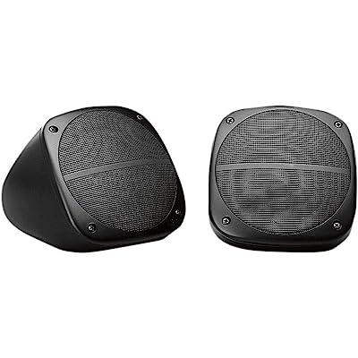 Jensen HDS3000 60 Watts Weatherproof Heavy Duty Dual Cone Surface-Mount Speakers, 1 Pair: Automotive [5Bkhe0115771]