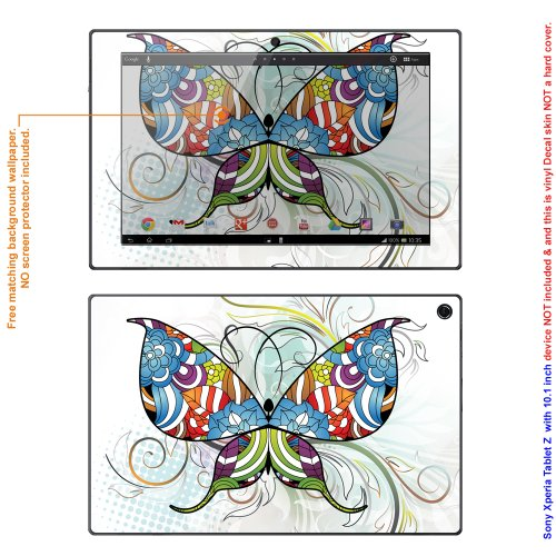 Decalrus Matte Protective Decal Skin skins Sticker for Sony Xperia Tablet Z2