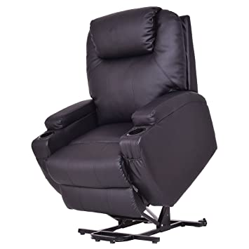 Giantex Lift Chair Electric Power Recliner w/Remote and Cup Holder Living Room Furniture (  sc 1 st  Amazon.com & Amazon.com: Giantex Lift Chair Electric Power Recliner w/Remote ... islam-shia.org