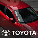 UUSticker Toyota Windshield CAR Premium Sticker Vinyl Decal Auris Avensis Corolla Land