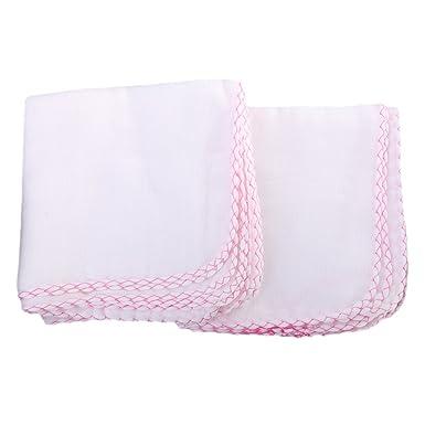 Gazechimp 10x Pañuelo de Bebé Toalla de Lactancia de Gasa Toallas Limpia para Bebés Baberos Ligero: Amazon.es: Ropa y accesorios