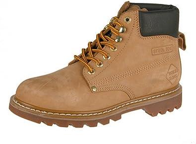 Inch Steel Toe Tan Boot