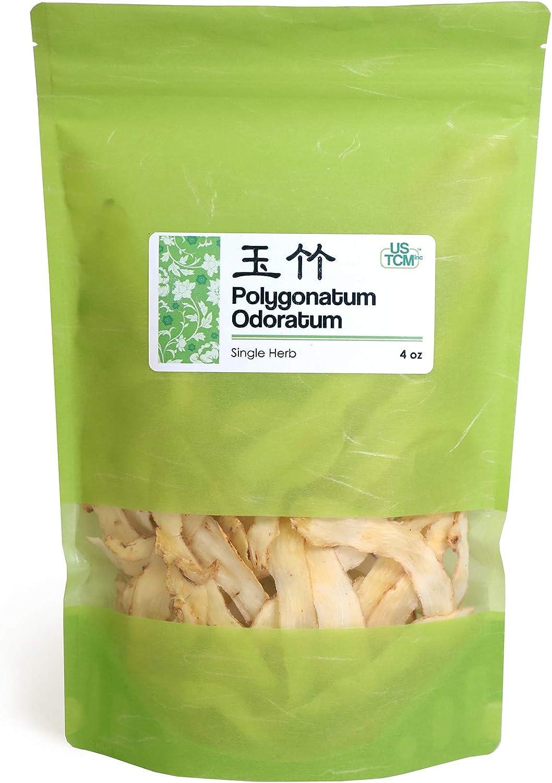 New Packaging Polygonatum Odoratum Slice 玉竹 4 Oz