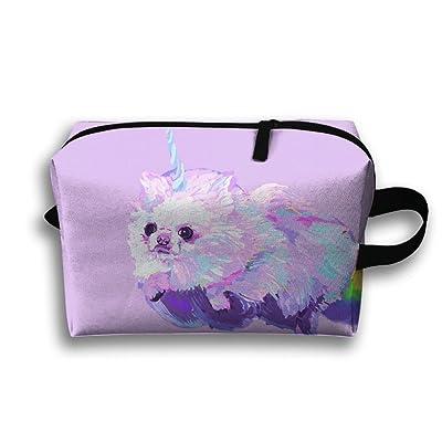 Best Unisex Outwork Sports Bag Toiletry Bag Pomeranian Dog Wash Bag