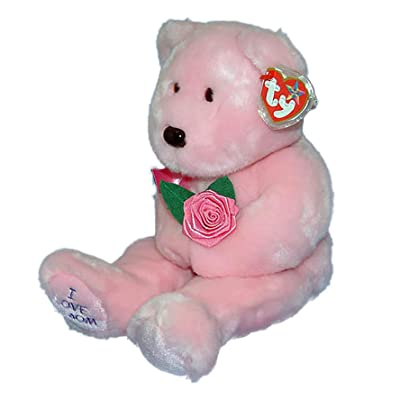 "Ty Beanie Buddy Mom 13"" Plush Mother's Day Bear: Toys & Games"