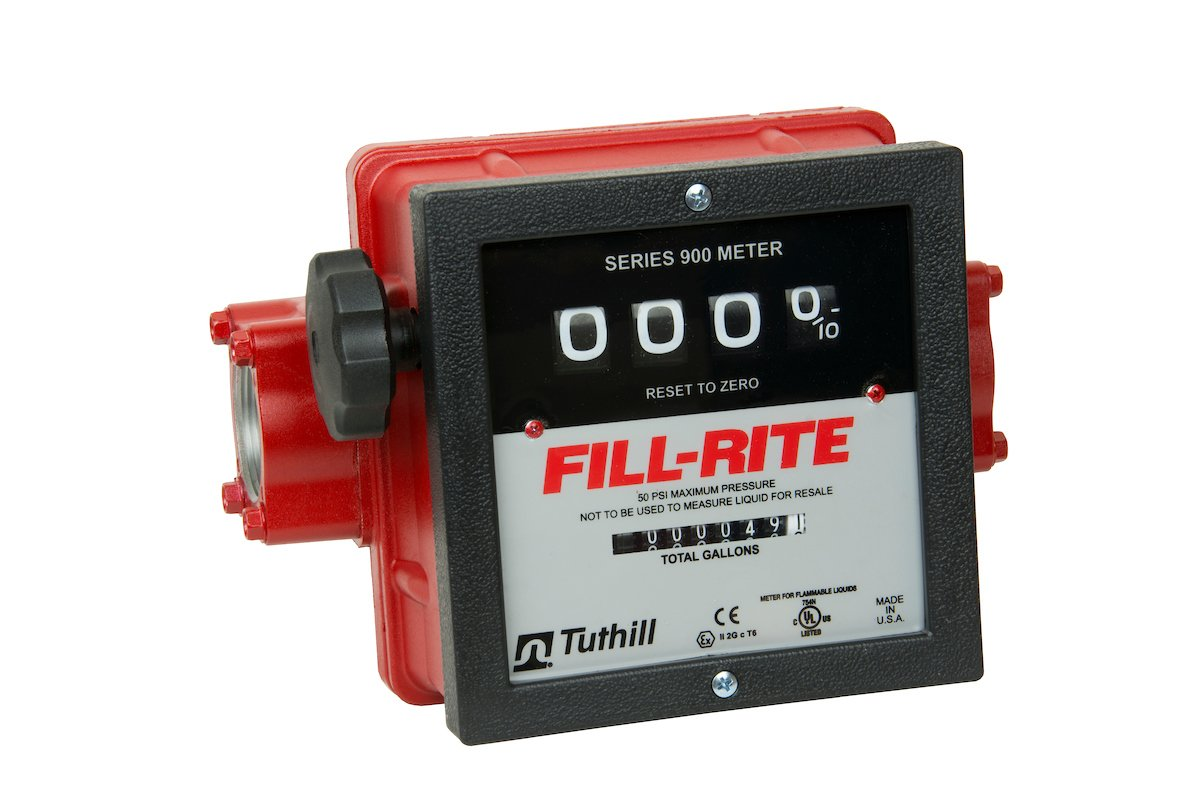 Fill-Rite 901C1.5 Series 900 Basic Meter With 1-1/2'' Inlet/Outlet