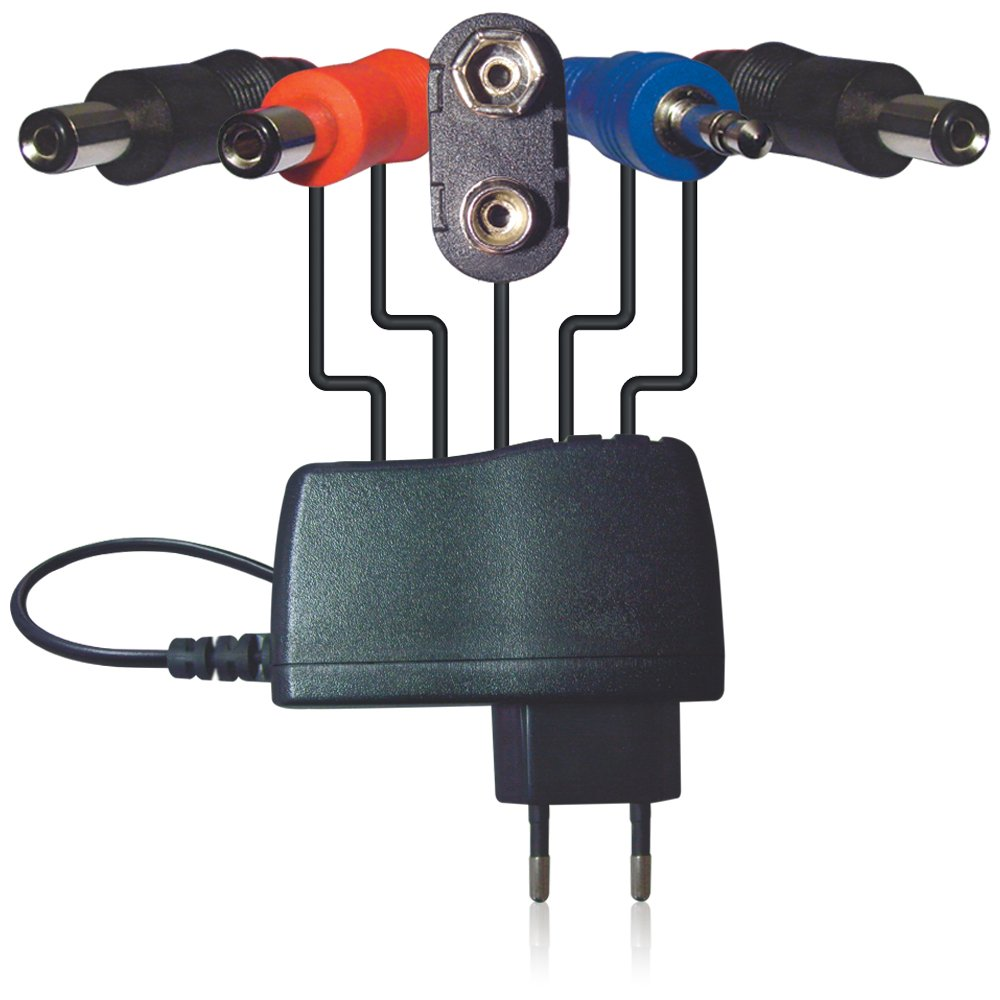 DC 9 V / 1.7 A Power Adapter with Daisy-Chain Connectors, Jumper Cables Behringer PSU-HSB-ALL
