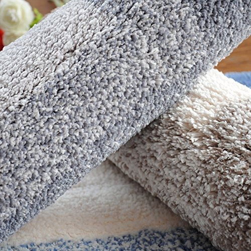 DIDIDD Super soft grey rug shaggy rug / comfortable and durable antibacterial 5080cm,4060Cm by DIDIDD (Image #2)
