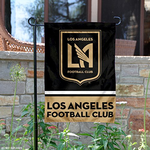WinCraft Los Angeles Football Club Double Sided Garden Flag by WinCraft