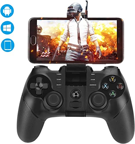 Mando Inalámbrico, Achort Gamepad Bluetooth Mando PS3 Controlador de 2,4 GHz compatible con iOS, Windows PC, PS3, Smart-TV, Samsung VR, Smartphone / Tableta Android etc: Amazon.es: Videojuegos