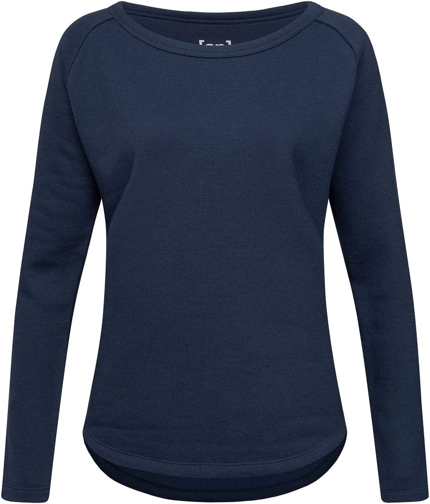 Supernatural Knit Sweatshirt Sweat-Shirt Femme Blue Iris Melange