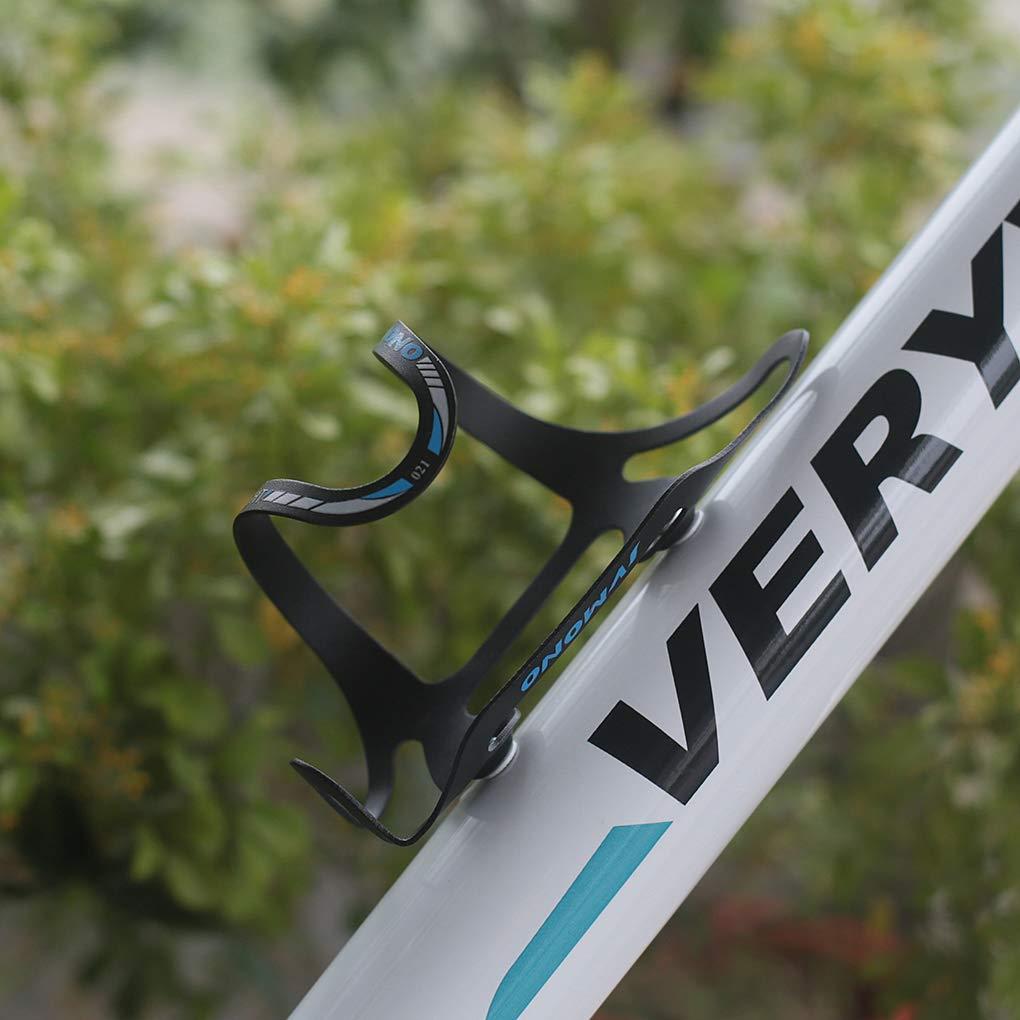 ZOYO aleaci/ón de Aluminio, Ligera, para Ciclismo, se Adapta a Cualquier Bicicleta con f/ácil instalaci/ón Jaula para Botella de Agua