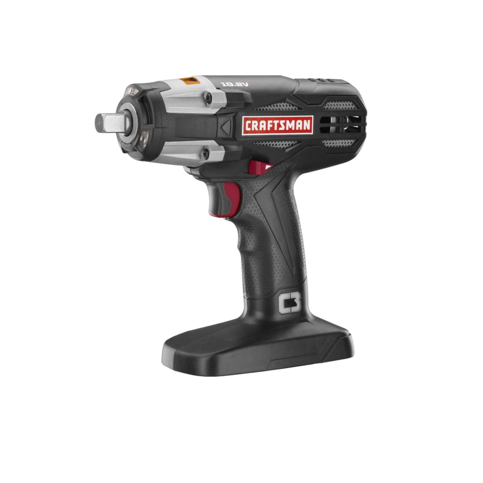 Craftsman C3 19.2 Volt 1/2'' Heavy Duty Impact Wrench (Tool Only - Bulk Packaged)