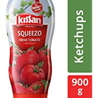 Kissan Fresh Tomato Ketchup Squeezo, 900g