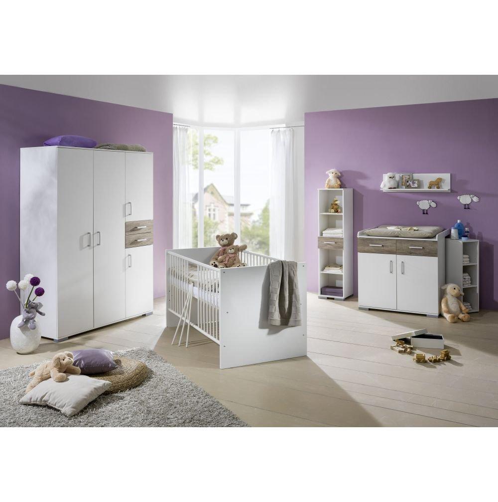Babyzimmer Isabel Weiss/Wildeiche 8tlg.