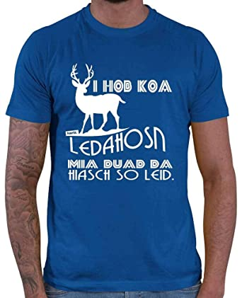 HARIZ - Camiseta de Hombre Koa Leda, Hiasch So Leid ...