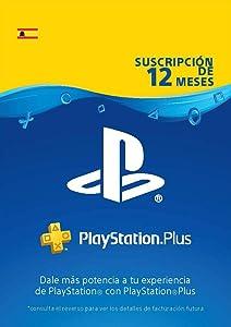 PlayStation Plus Suscripción 12 Meses   Código de descarga PSN - Cuenta española