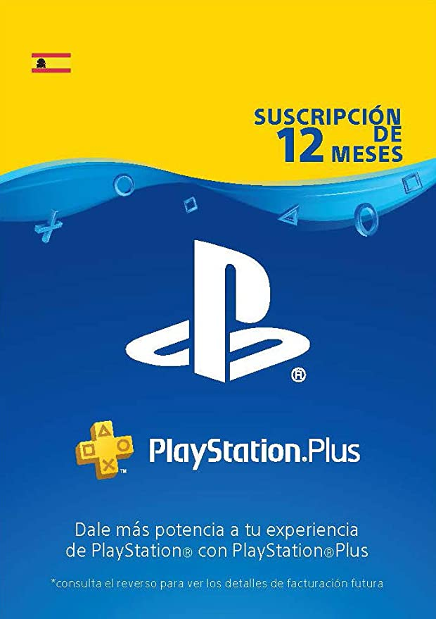 Sony PSN Plus - Tarjeta para 365 días, Reedición, Código Digital