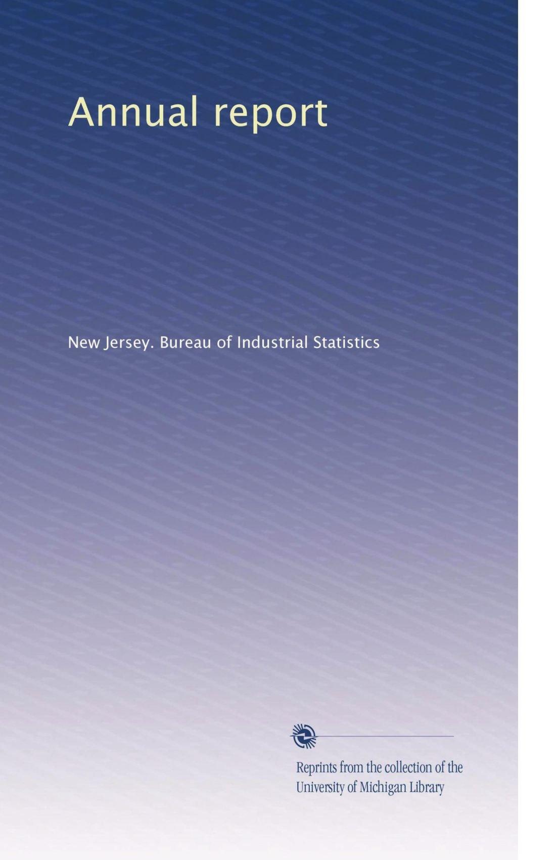 Annual report (Volume 7) pdf