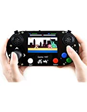 Waveshare Game HAT for Raspberry Pi with 3.5Inch IPS Screen Embedded Onboard Speaker and Earphone Jack Compatible with All Version Raspberry Pi