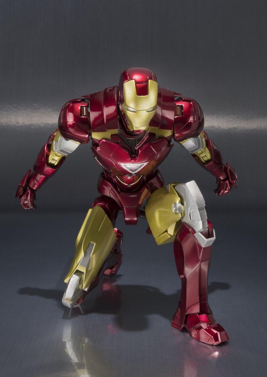 Bandai Tamashii Nations ''Iron Man 2'' S.H. Figuarts MK. VI & Hall of Armor Set by Tamashii Nations (Image #2)