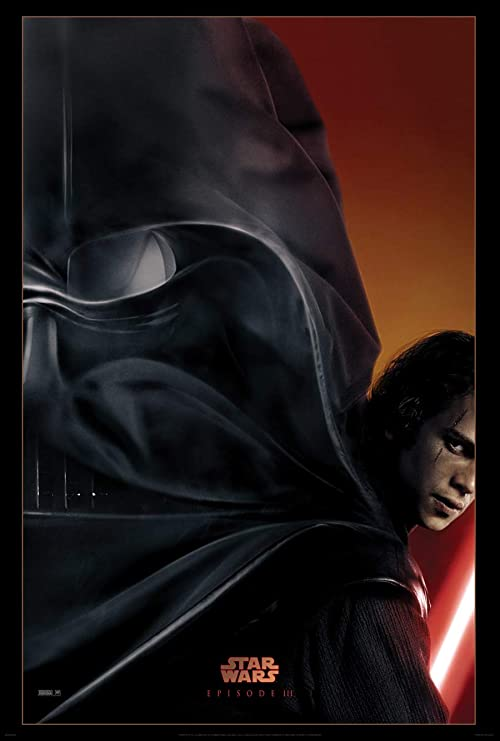Amazon Com Star Wars Episode Iii 3 Revenge Of The Sith Movie Poster 2 Sided Original Advance 27x40 Prints Posters Prints