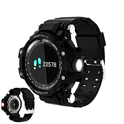 Amazon.com: Uhruolo Bluetooth Smartwatch Fitness Tracker ...