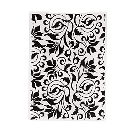 BUZHI Christmas Snowflake Plastic Embossing Folder Template Craft Embossing Folders for Scrapbooking Paper Card Making Decoration Supplies