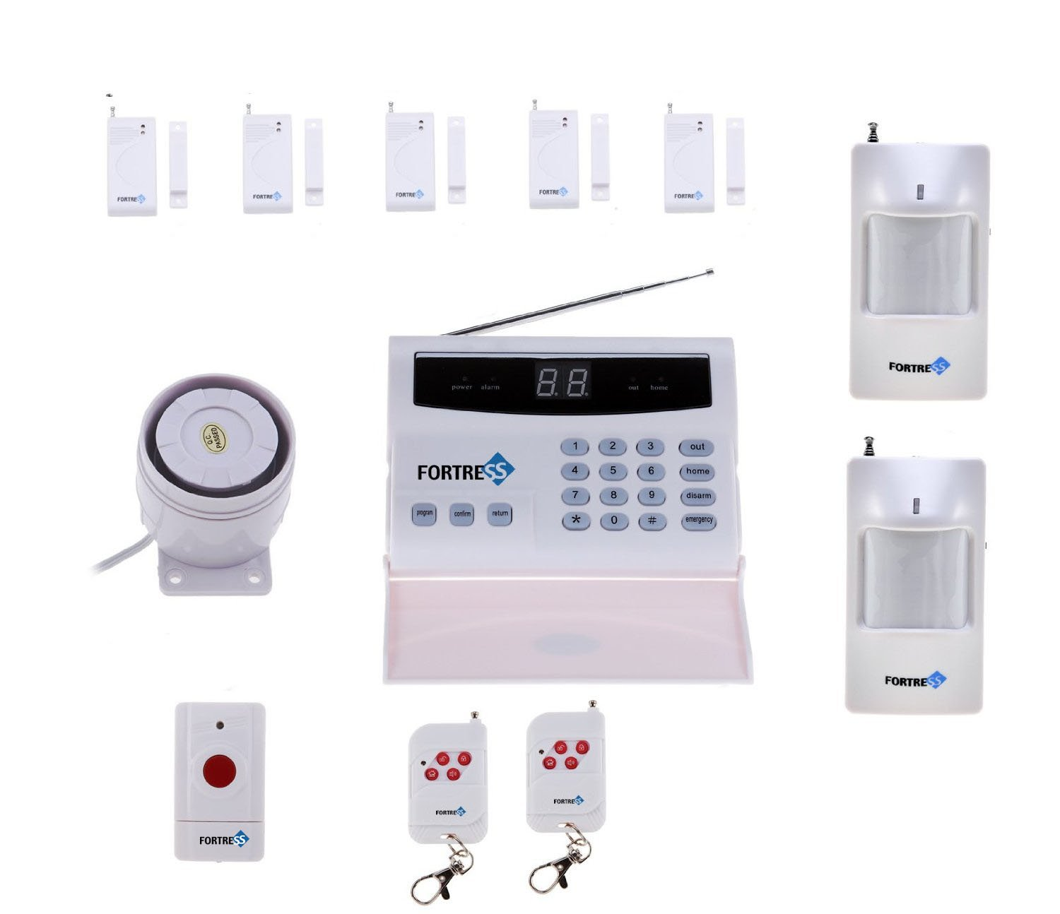Fortress Security Store  TM  S02 B Wireless Home Security Alarm System Kit  with Auto Dial   Outdoor Siren This is another popular wireless alarm system  from. The Benefits of a Wireless Home Alarm System   Safety com