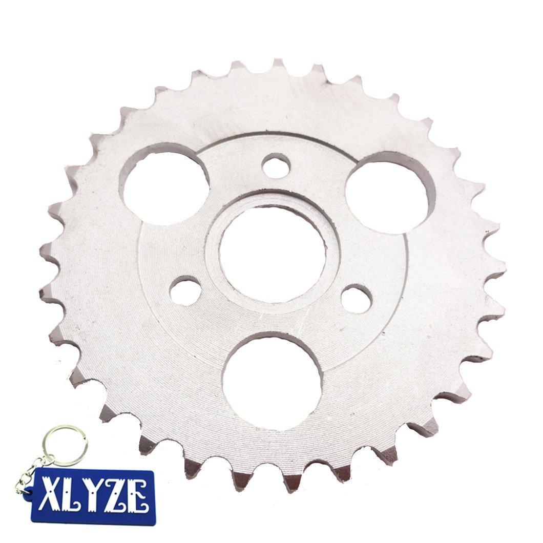 XLYZE 420 31 Z/ähne 30 mm Kettenrad hinten Z50A Z50 Z50R Z50J Monkey Bike