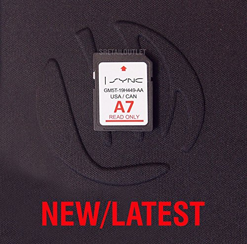 A7 2017 MAP UPDATE Navigation SD CARD SYNC FITS ALL FORD, LINCOLN UPDATES A6 by Garden&Park