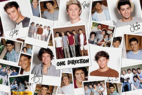 """One Direction - Music Poster / Print (The Boys / Polaroid Collage) (Size: 36"""" x 24"""") (By POSTER STOP ONLINE)"""
