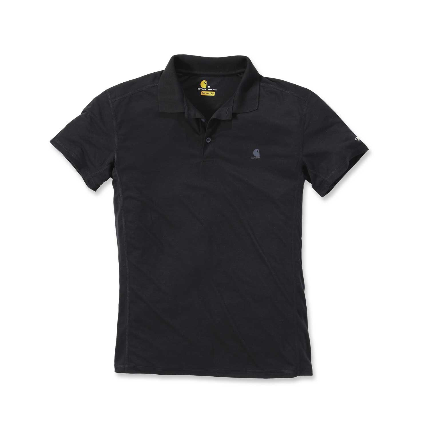 Carhartt Mens Force Extremes Tough Fast Drying Short-Sleeve Polo ...