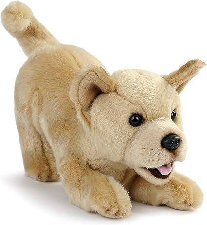 DEMDACO Mix Rescue Breed Dog Soft White 10 inch Plush Fabric Stuffed Figure Toy