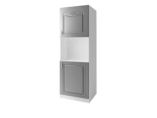 tendencio - Mueble de Cocina para Horno empotrable (205 cm, 2 ...