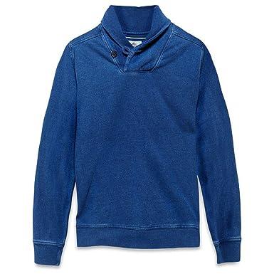 Timberland Hombre Sudadera Halls Stream Shawl Azul Talla M - algodón, Azul, 100 %