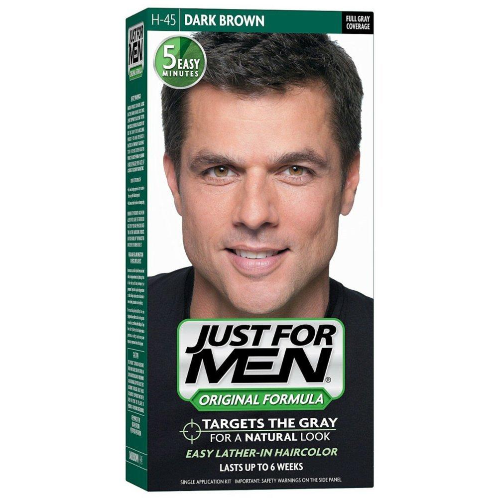 Just For Men Original Formula Men's Hair Color, Dark Brown (Pack of 12)