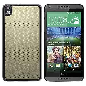 Paccase / SLIM PC / Aliminium Casa Carcasa Funda Case Cover - Simple Pattern 19 - HTC DESIRE 816