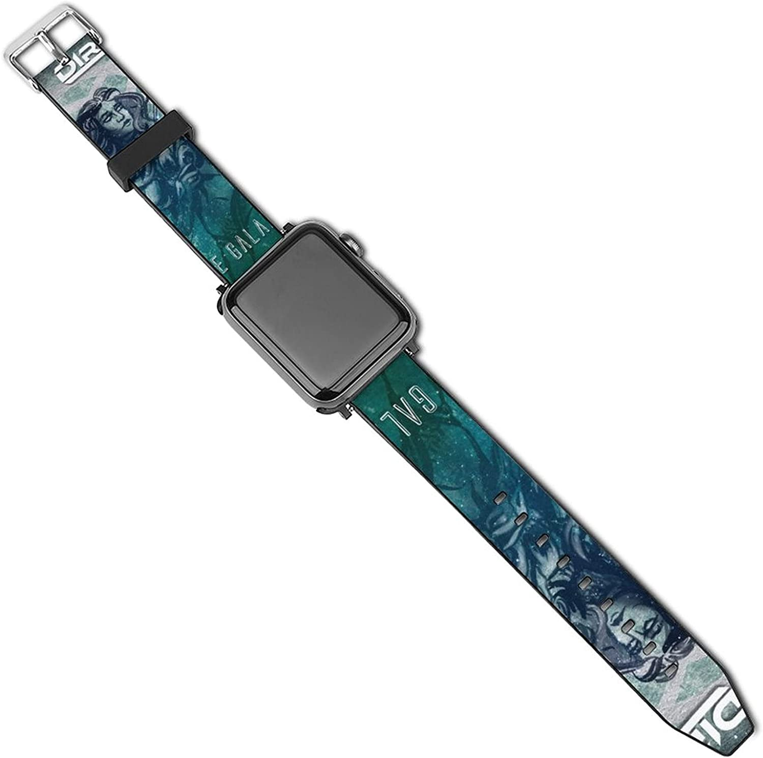 Unleash The Archers Bands Compatible With Apple Watch , Silicone Fadeless Pattern Printed Replacement Bands For Iwatch Series 5/4/3/2/1 For Women 38mm/40mm