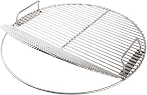 Stainless Steel Cooking Grate 21.5 inch Kettle Grill Grate 304 Stainless Steel Food Grade Safe for 22.5 inch Weber Charcoal Grills